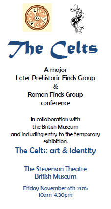 Full Details and Booking Form Available for 'Celts' Conference Autumn 2015